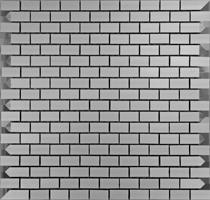 Mosaici Alluminio Satinato